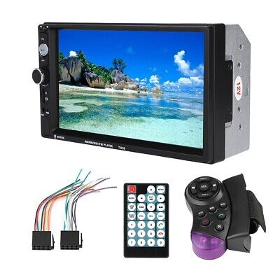 7inch Double Din Car BT MP5 Player Stereo FM Radio Support Reverse Image
