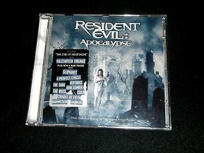 Resident Evil Apocalypse Soundtrack Cd