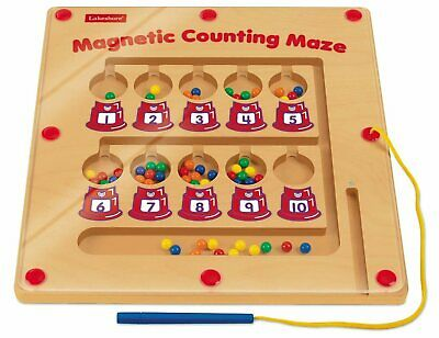 Lakeshore Magnetic Counting Maze Educational Toy Children Learning Math A5MC