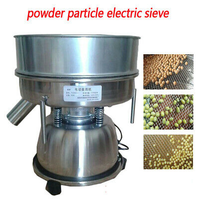 220V Electric Mechanical Sieve Shaker Vibrating Sieve Powder Particles Screening