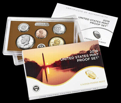 2019 US Mint 10 Coin Clad Proof Set (No W Lincoln Cent) - TOTALLY FRESH! CHEAP !
