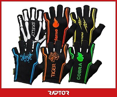 Mini/Junior/Kids 3/4 Fingered/Short Rugby Grip Fleece Lined Gloves/Mits/Mitts