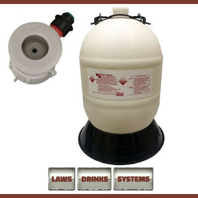 15 Litre Beer Line Cleaning Bottle Complete with A-Type Top