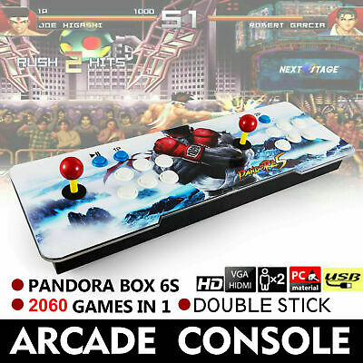 Original Pandora's Box 6S 2060 in One Double Stick Retro Arcade Console Support