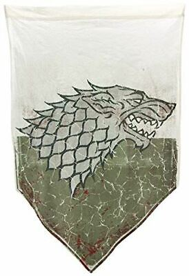 "Game of Thrones Battle Worn Stark Banner (27"" x 45"")"