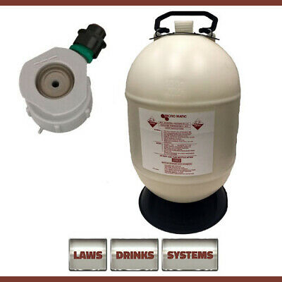 30 Litre Beer Line Cleaning Bottle Complete with G-Type Top (Grundy)