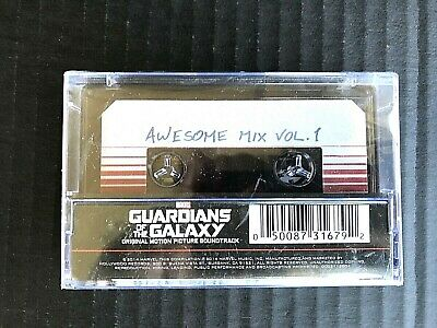 MARVEL Guardians of The Galaxy Awesome Mix Vol. 1 Cassette & Digital Dwnload -IA