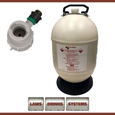30 Litre Beer Line Cleaning Bottle Complete with U-Type Top