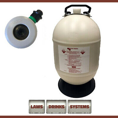 30 Litre Beer Line Cleaning Bottle Complete with M-Type Top