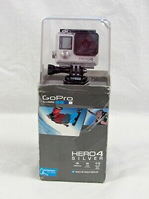 GoPro HERO4 Silver Edition Action Camcorder with Touchscreen LCD CHDHY-401