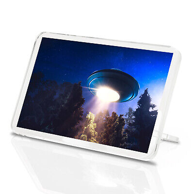 UFO Aliens Space Boys Gift #15970 Awesome Flying Saucer Classic Fridge Magnet