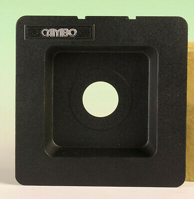 Cambo recessed lens board