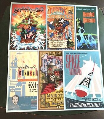 """Disney Poster (6) Pack - Any (6) 12""""X18"""" Disney Posters In Our Store!!"""