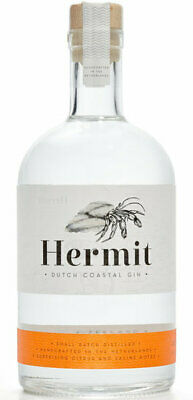 Gin Hermit 43° 53 cL DUTCH COASTAL AROMATIC DRY GIN