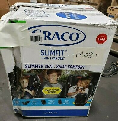 Graco SlimFit All-in-One Convertible Car Seat (Camelot)
