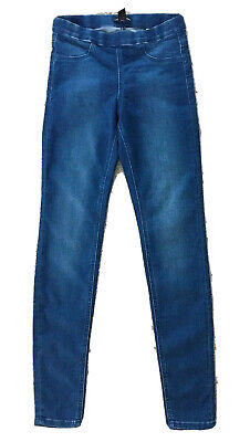 """H&M Soft Stretchy Blue Slim Jeans Size 8-10. W30"""" L30"""". Perfect Condition"""