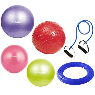 Toorx Gymball Palle Ginniche Palestra Fitball Swiss Ball Yoga Pilates Fitness