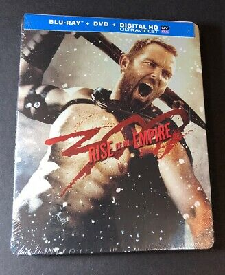 300 Rise of an Empire  [ Limited STEELBOOK Edition ] (Blu-ray DVD) NEW