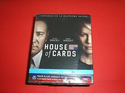 "BLU-RAY neuf emballé,serie,""HOUSE OF CARDS"",l'integrale de la saison 4,k.spacey"