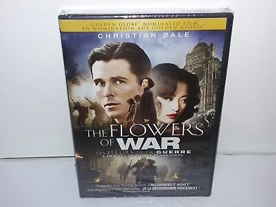 The Flowers of War (DVD, Canadian, Bilingual, Widescreen) NEW -- Many Extras