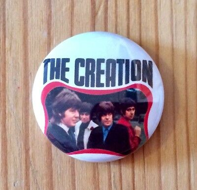 THE CREATION (BAND) - BUTTON PIN BADGE (25mm)