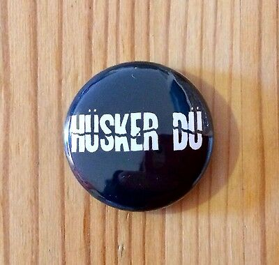 HUSKER DU (BAND) - BUTTON PIN BADGE (25mm)