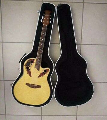 Acoustic Electric Guitars Musical Instruments & Gear Ovation Sacp247 Celebrity Acoustic Electric Guitar W/hardcase