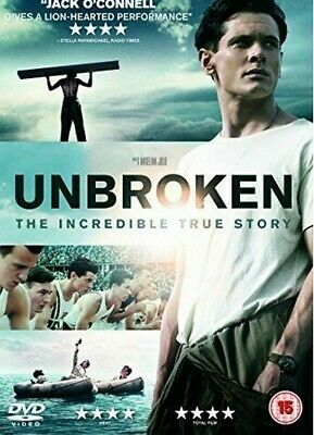 Unbroken DVD (2015) Jack O'Connell **brand new and sealed**