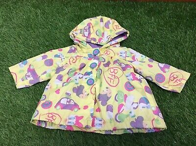 Baby Girl Disney Minnie Mouse & Daisy Duck 0-3 Months Raincoat/Jacket Hooded