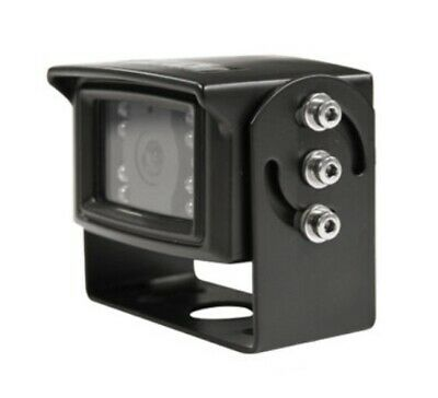 "CAM87 New 110° Cab Cam Camera 1/3"" CCD with 18 LED Infrared Illuminator Lights"