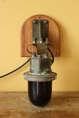 Vintage , Antique Ships Port light.  Original, not a reproduction.
