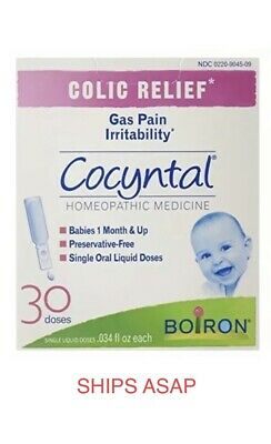 NIB BOIRON COLIC RELIEF Cocyntal for Babies 1 Month & Up, 30 doses