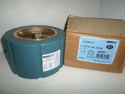 3 3 Wafer Style Class 125 NIBCO   W920W-LF Twin Disc Wafer Check Valve   Lead-Free Buna-N Seat