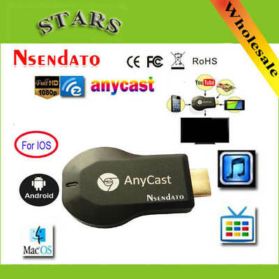 1080p Anycast Dongle WiFi TV Media Airplay Display DLNA HDMI Receiver Miracast
