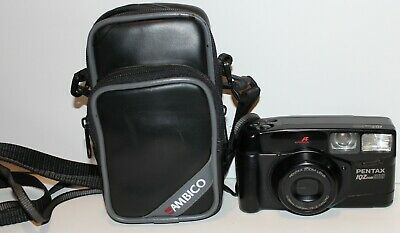 Pentax IQZoom 900 - 35mm  Film Camera with Case