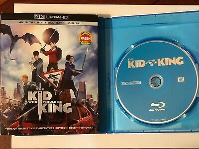 The Kid Who Would Be King (Blu-ray Disc ONLY) + SLIPCOVER/BLANK CASE! SEE INFO!