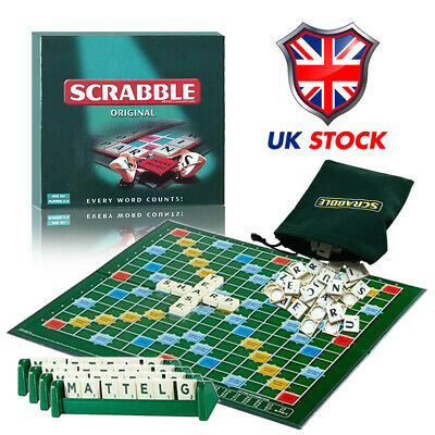 Family Letters Scrabble Game Kids Adults Educational Learning Party Game Board