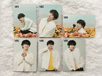 BTS Love Yourself Tour Japan Official Photocard V Individual Cards