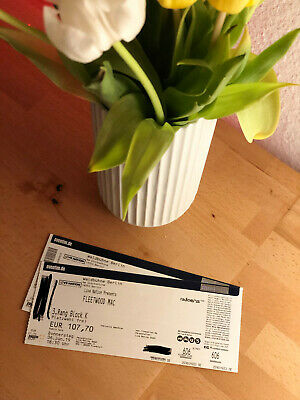 2 Fleetwood Mac Tickets Waldbühne Berlin 6.6.19