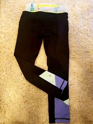 3cd69056f4ffb ... Black align or pace full luon Size 6.