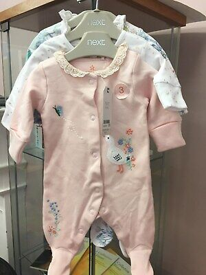 NWT up to 7.8lbs NEXT Gorgeous Little STAR Romper Suit First Size