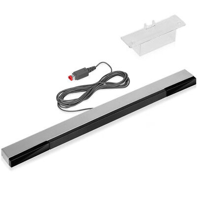 Motion Sensor Receiver Remote Infrared Ray Inductor Bar Game For NS Wii 9U