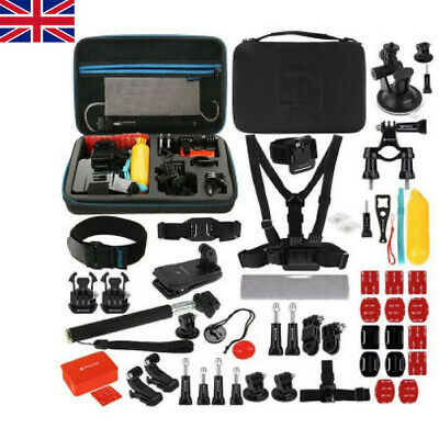 53 in 1 Accessories Combo Camera Kits + EVA Case For GoPro HERO 7/6/5/4/3 Black