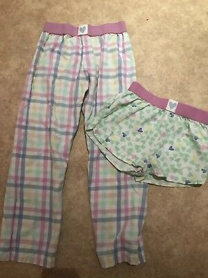 Marks and Spencer Pyjama Bottoms and Shorts, Pink, Aged 6-7 Years,