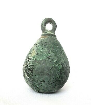 1700's Antique Copper Stuffed Lead Ottoman Turkish Hanging Weight - 650g
