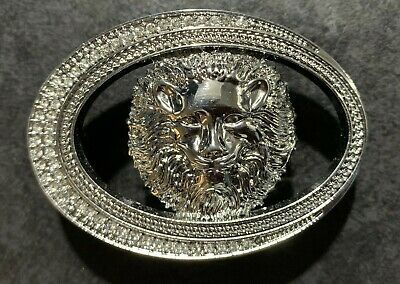 Lion Diamonds Designer Luxury Pin Buckle Only For 38 Mm Belt Buckles Unisex New