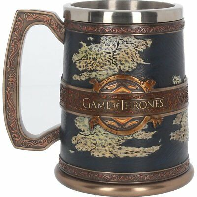 Game of Thrones : Official HBO Merchandise -  The Seven Kingdoms Tankard 14cm