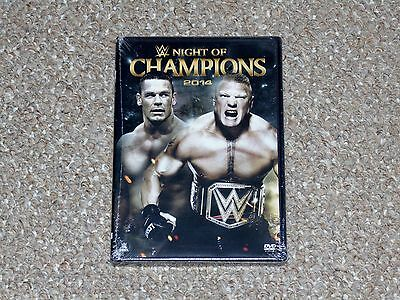 WWE: Night of Champions 2014 DVD 2014 Brand New Canadian