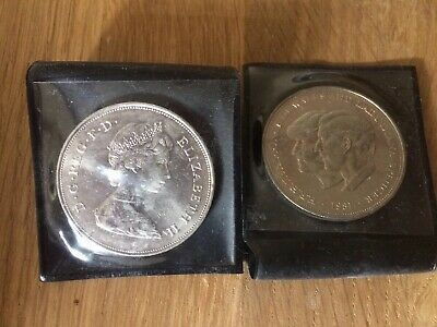 1981 Crown Coin - The Royal Wedding Prince Charles & Lady Diana Spencer