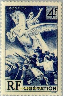 EBS France 1945 Liberation of France from German Occupation YT 669 MNH**